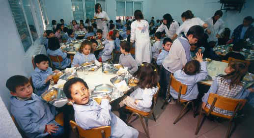I jornada de comedores escolares en zaragoza informa for Monitor de comedor escolar